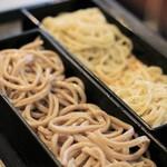 三吉橋 小嶋屋 - 料理写真:田舎と更科