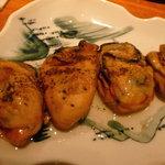 なっぱSUN - 蒸し牡蠣のガーリック風味