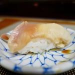 なら鮨 - [2018/04]郷土生寿し・松(3000円+税)・寿司③ ほっき貝の握り