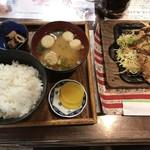 ドバイー - ドバイ焼定食