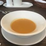ベーカリーレストランサンマルク - にんじんのポタージュ