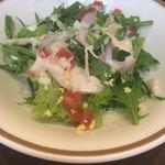 85776718 - ささみ蒸し鶏の生姜風味サラダ