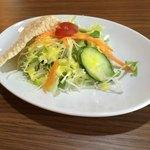 マウント エベレスト レストラン - セットのサラダ