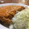 香林 - 料理写真:チリカツ丼〜(*^▽^*)