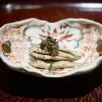 日本料理 晴山 - 稚鮎 花山椒