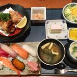 一心太助 - 料理写真:ディナータイム 寿司定食 1,780円