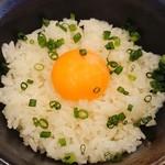 麺屋もろ - 卵かけご飯
