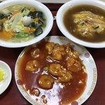 開華園 - 料理写真:ミニでよくばりセット