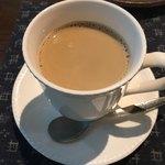 自家焙煎珈琲 森の響 - カフェ・オレ ミルク多めです
