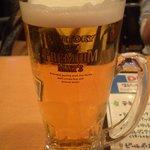 Fields - 生ビール¥550