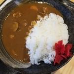 寿都アンテナショップ 神楽 - 浜のカレーライス 750円