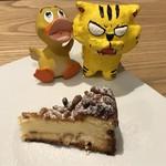トラットリア レット - 松の実とリコッタのチーズケーキ