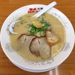 ふくちぁんラーメン - 料理写真:とんこつラーメン(650円)
