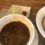 和 - 料理写真:別添え 刻み白葱 と ガラムマサラ