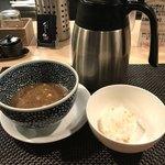 セアブラノ神 壬生本店 - 締めの割りスープ&締め飯