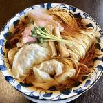 麵処清水 - わんたん麺¥850