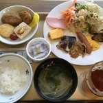 ホテルルートイン - 料理写真:1日目朝食
