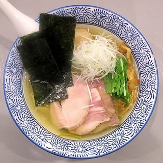 麺処清水 - 料理写真:鶏だし塩特製ラーメン