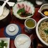 うどん茶屋 北斗 - 料理写真: 鯛めし うどん定食