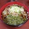 そば処 - 料理写真:めかぶそば(430円)