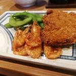 海鮮料理 鶴丸 - 魚のフライなど
