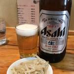 亀戸餃子  - ビール