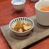 蕎麦切り 酒 大愚 - 料理写真:蕗と鳥の炒め煮、フルーツトマト共和え