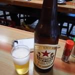 いづみや - 瓶ビール(大) 470円