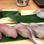 沼津魚がし鮨 - 近海5点握り