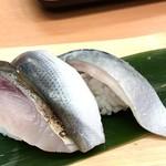 沼津魚がし鮨 - 光三種握り