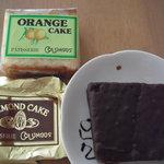 コロンブス - アーモンドケーキとオレンジケーキ