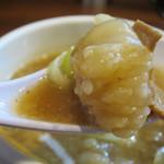 85790207 - 牛ホルモンのつけ麺