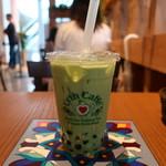 Urth Caffe - オーガニックグリーンティー ボバ ICE