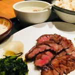 仙台牛たん 荒 - 牛タン焼き定食¥2300