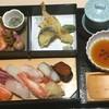 鮨処 春冬夏 - 料理写真:春冬夏弁当 これに味噌汁、ドリンク付き
