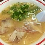 Musashiramen - ラーメンセット646円の武蔵ラーメン