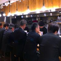 旭川味噌ラーメン ばんから-店内 2018.4.13
