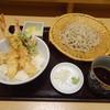 吉祥庵 - 料理写真:天丼とそば