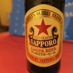 中華 うずまき - 30年5月 サッポロラガービール