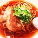85796530 - 煮干し中華そば680円(^^)