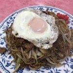 名物 鉄板焼そば専門店 かみ家 - 料理写真:肉玉