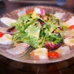 先斗町 魯ビン - 蛸と鮮魚のカルパッチョ