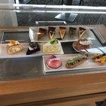 鳥羽国際ホテル カフェ&ラウンジ - チーズケーキは全部で5種類ありました。