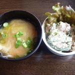 8580380 - ランチスープと一品@ごはんランチ