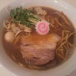 東成きんせい - 煮干そば(700円)