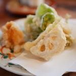 Itsutsu - 天ぷら 野菜3種