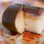 五 - さば寿司の断面