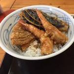 秀 - ランチ天丼 750円(税込)