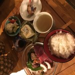 バレアリック飲食店 - 本日のお刺身定食
