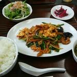中国料理 桃花園 - Aランチ 1100円